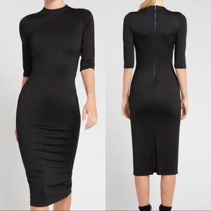 Alice + Olivia Delora Fitted Dress